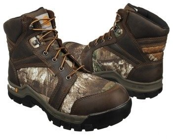 "Carhartt Men's 6""Camo WorkFlex Soft Toe"