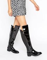 Head Over Heels By Dune Tamara Flat Over The Knee Boots