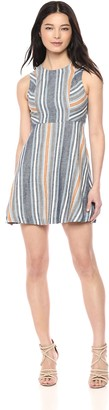 BCBGeneration Women's Variegated Stripe Dress