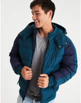 Aeo AE Colorblock Puffer Ski Jacket