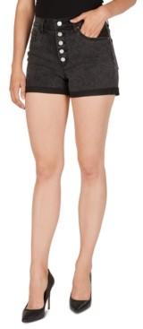 Numero High-Rise Cuffed Denim Shorts