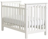 Pottery Barn Kids Kendall Low-Profile Fixed Gate Crib, Simply White