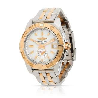Breitling White gold and steel Watches