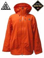 Nike ACG Gore-tex Performance Shell Jacket Orange Mens Ski Snowboard Mountainwear All Sizes