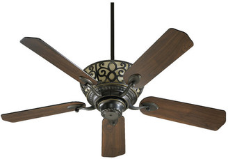 "Cimarron 52"" 5-Blade Ceiling Fan, Old World"