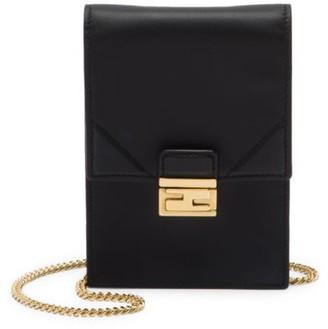 Fendi Mini Leather Phone-Case-On-Chain