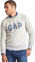 Gap Marble-wash logo pullover sweatshirt