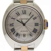 Cartier Cle Silver gold and steel Watches