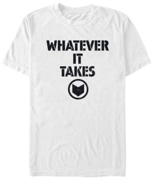 Marvel Men's Avengers Endgame Whatever It Takes Logo, Short Sleeve T-shirt