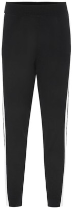 Stella McCartney Tapered jersey trackpants