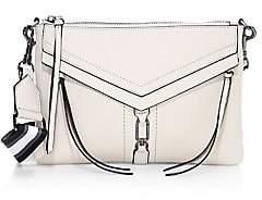 Botkier Women's Trigger Flat Leather & Canvas Zip Crossbody Bag