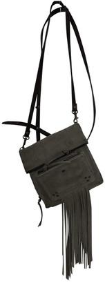 Jerome Dreyfuss Grey Suede Handbags