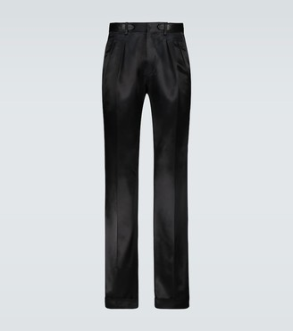 Tom Ford Atticus double-pleated pants
