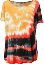 Faith Connexion tie-dye print T-shirt - women - Linen/Flax - XS