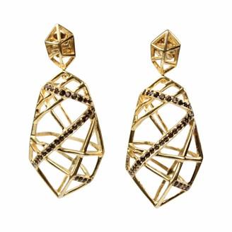 Bellus Domina Hexa Smoky Quartz Earrings