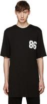 Helmut Lang Black Varsity Logo T-Shirt