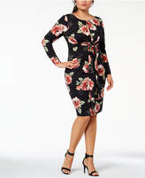 Soprano Trendy Plus Size Cutout Bodycon Dress