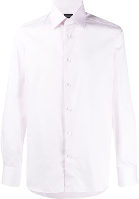 Ermenegildo Zegna plain button shirt