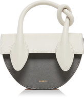 Yuzefi Dolores Color-Block Textured-Leather Bag