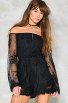 Nasty Gal nastygal Caught in a Dream Mesh Romper