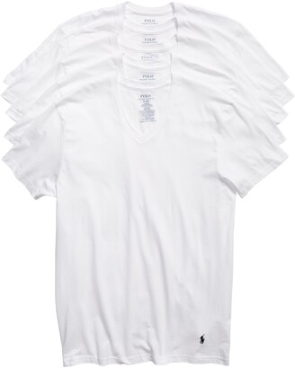 Polo Ralph Lauren 5-Pack V-Neck T-Shirts