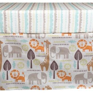 Poppi Living Safari Premium Cotton Crib Skirt