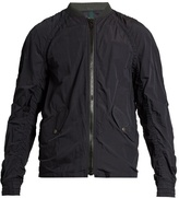 Kolor Ruched Lightweight Bomber Jacket