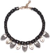 Lulu Frost Blackheart Lock Necklace