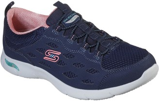 Skechers Arch Fit Refine Trainer - Navy Coral