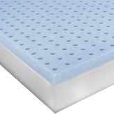 JCPenney SENSORPEDIC SensorPEDIC Classic 3 Ventilated Memory Foam Mattress Topper