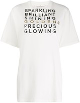 Golden Goose slogan oversized T-shirt