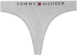 Tommy Hilfiger logo waistband thong