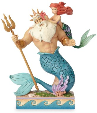 Disney Ariel and Triton ''Daddy's Little Princess'' Figure by Jim Shore