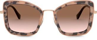 Miu Miu Delice oversized-frame sunglasses