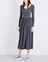 Claudie Pierlot Tale crepe midi dress