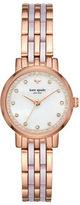Kate Spade Rose Goldtone & Blush Pink Acetate Mini Monterey Watch