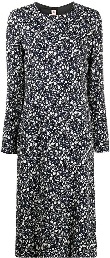 Marni Dot Print Shift Dress