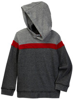 Splendid Two-Tone Thermal Hoodie (Toddler Boys)