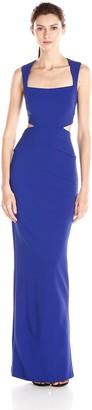 Nicole Miller Women's Fiona Structured Heavy Jersey Dress