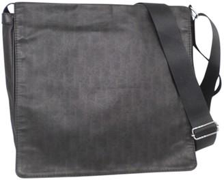 Christian Dior Anthracite Cloth Bags