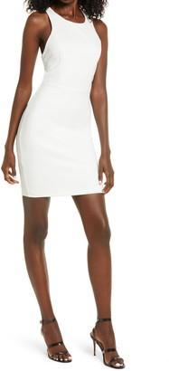 Lulus Feeling Right Strappy Body-Con Minidress