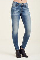 True Religion Jennie Curvy Mid Rise Super Skinny Womens Jean