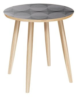 Corrigan Studio Farfan End Table Color: Natural