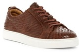 J Shoes Weaver Snake Embossed Sneaker