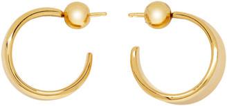 Sophie Buhai Gold Small Wave Hoop Earrings