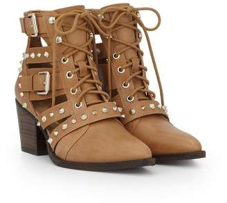 Sam Edelman Elana Cut-Out Studded Bootie