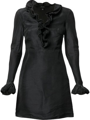Gucci Pre-Owned Ruffled Fitted Dress