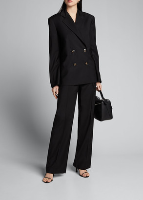 LOULOU STUDIO Pleated Suiting Pants
