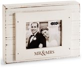 Mud Pie Wedding Collection Mr. & Mrs. 3 x 4 Block Frame