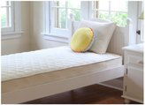 Naturepedic Organic Quilted Deluxe 1-Sided Mattress - Twin - Beige